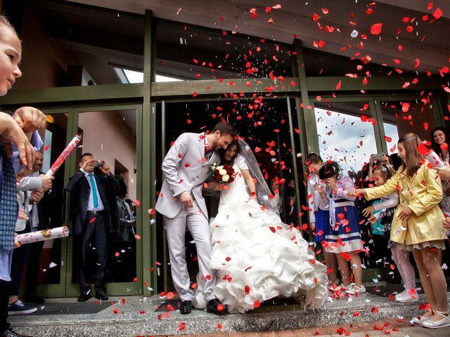 Il matrimonio di Gioele e Jessica a Brescia, Brescia 57