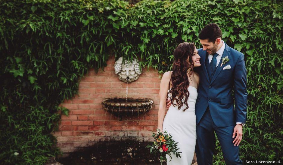 Il matrimonio di Joshua e Melissa a Montepulciano, Siena