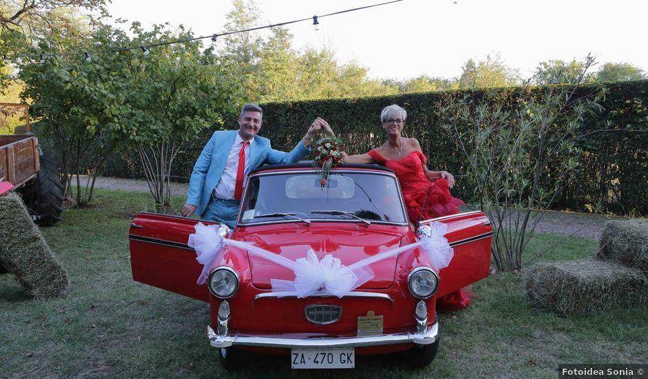 Il matrimonio di Leo e Lara a Samarate, Varese