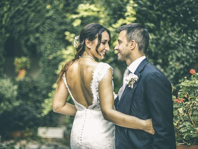 le nozze di Claudio e Jessica