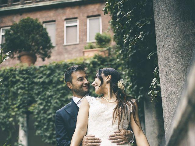 Il matrimonio di Jessica e Claudio a Milano, Milano 32