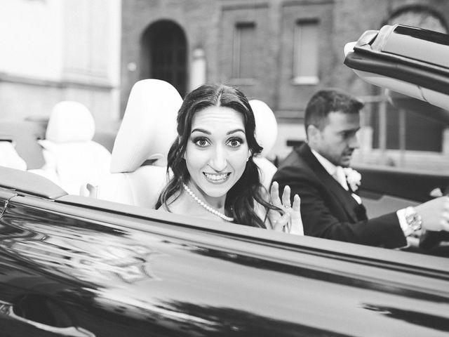 Il matrimonio di Jessica e Claudio a Milano, Milano 38