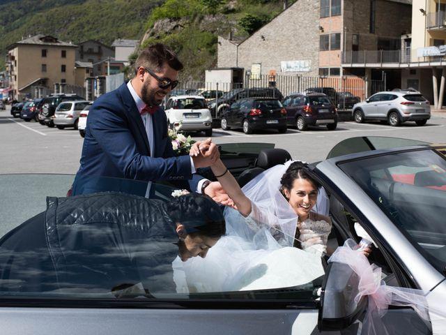 Il matrimonio di Rocco e Azzurra a Grosio, Sondrio 8