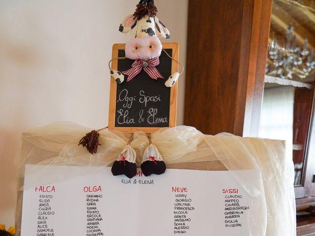 Il matrimonio di Elia e Elena a Barghe, Brescia 11