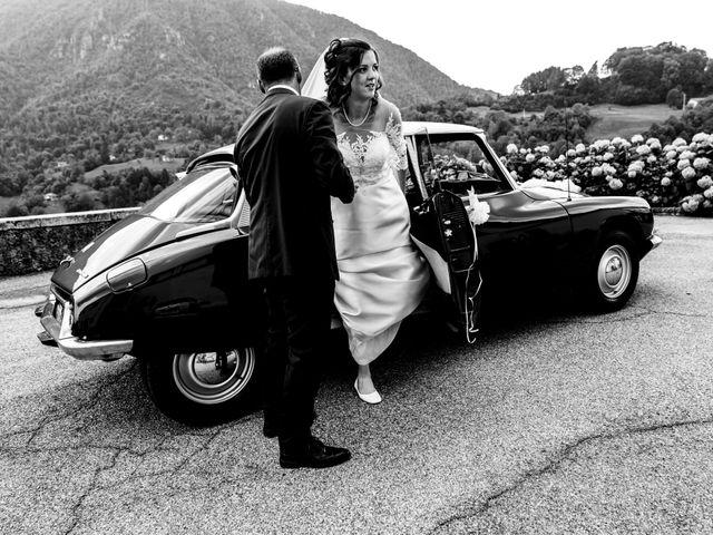 Il matrimonio di Elia e Elena a Barghe, Brescia 35