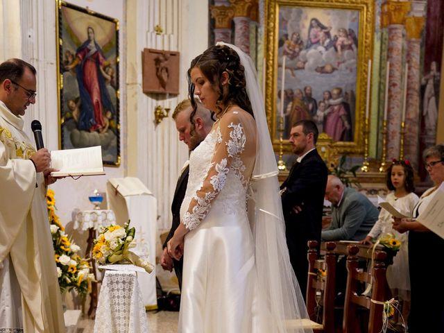 Il matrimonio di Elia e Elena a Barghe, Brescia 45
