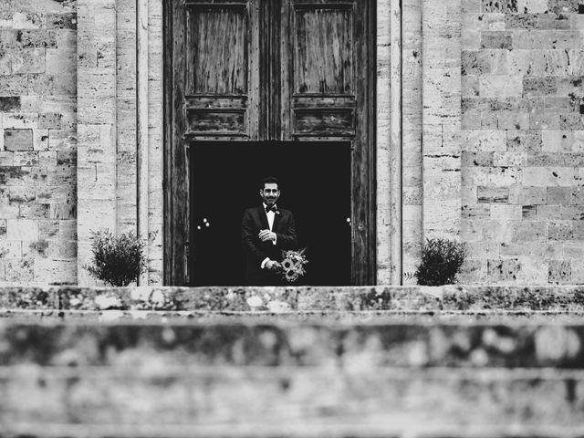 Il matrimonio di Samuele e Giulia a Asciano, Siena 17
