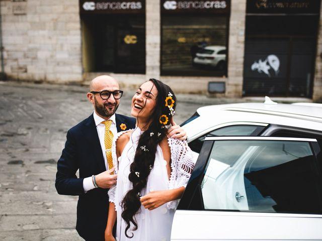 Il matrimonio di Samuele e Giulia a Asciano, Siena 18