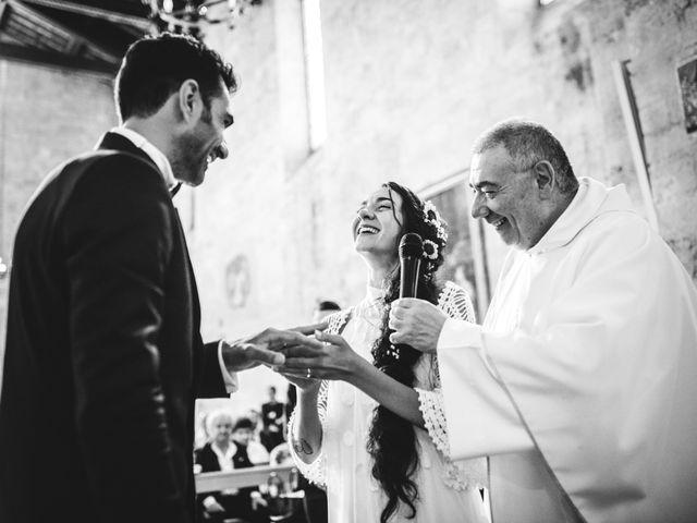 Il matrimonio di Samuele e Giulia a Asciano, Siena 21
