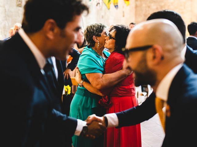 Il matrimonio di Samuele e Giulia a Asciano, Siena 22