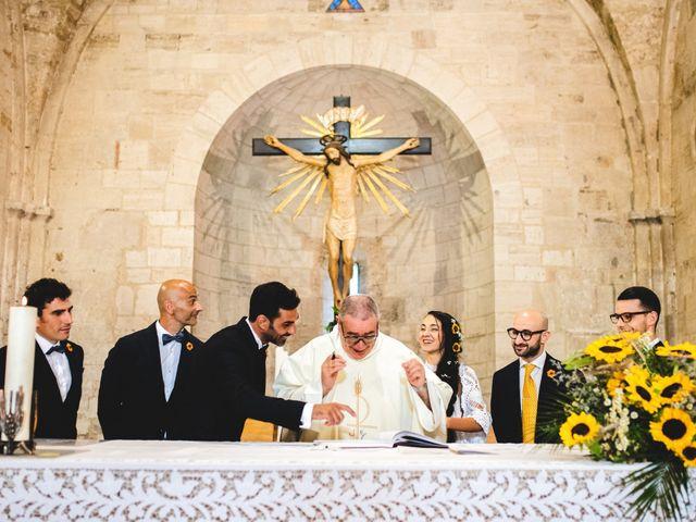 Il matrimonio di Samuele e Giulia a Asciano, Siena 24