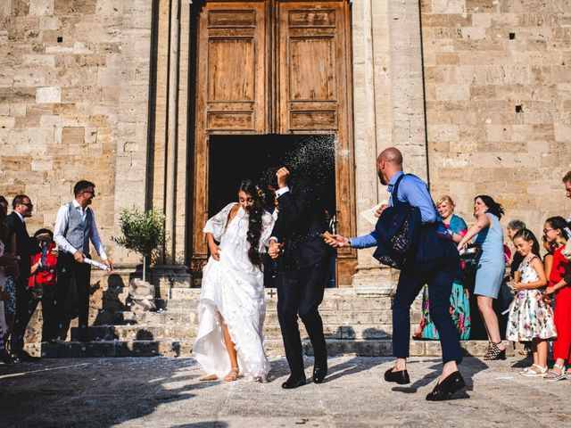 Il matrimonio di Samuele e Giulia a Asciano, Siena 27