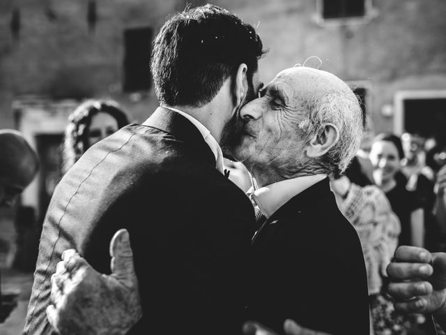 Il matrimonio di Samuele e Giulia a Asciano, Siena 28
