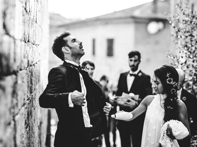Il matrimonio di Samuele e Giulia a Asciano, Siena 30