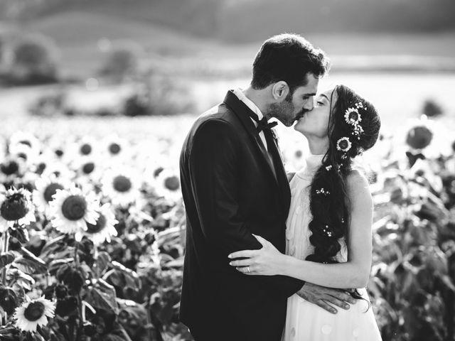 Il matrimonio di Samuele e Giulia a Asciano, Siena 31