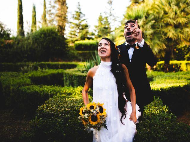 Il matrimonio di Samuele e Giulia a Asciano, Siena 37