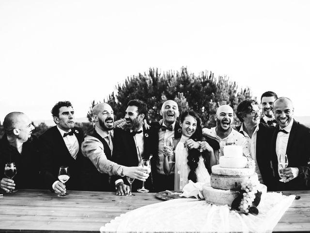 Il matrimonio di Samuele e Giulia a Asciano, Siena 40