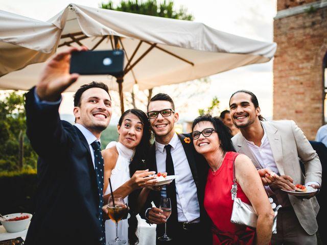 Il matrimonio di Samuele e Giulia a Asciano, Siena 41