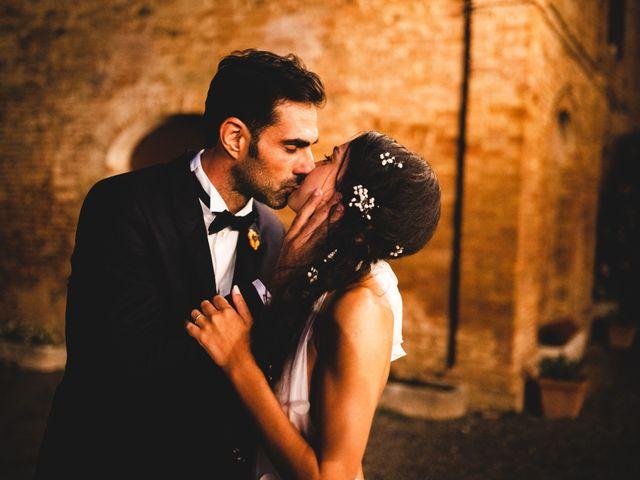 Il matrimonio di Samuele e Giulia a Asciano, Siena 46