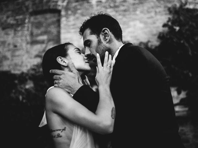 Il matrimonio di Samuele e Giulia a Asciano, Siena 48