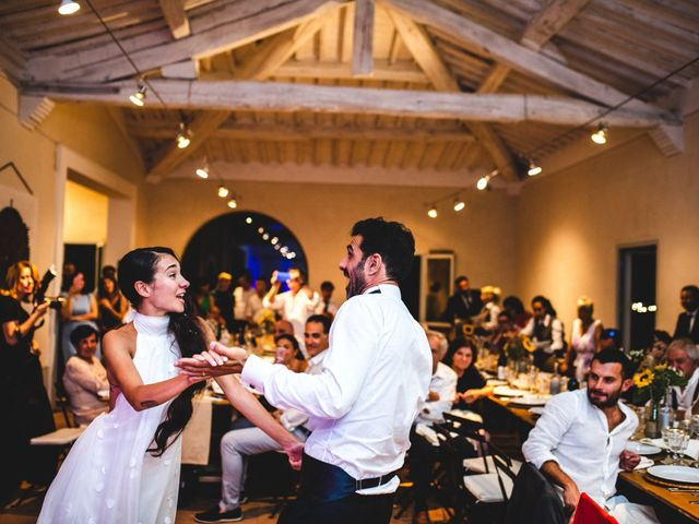 Il matrimonio di Samuele e Giulia a Asciano, Siena 54