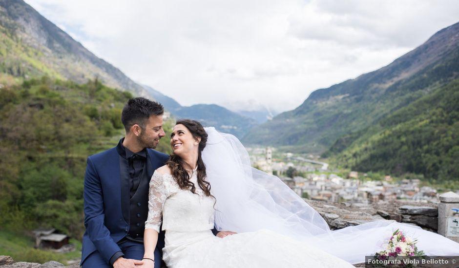 Il matrimonio di Rocco e Azzurra a Grosio, Sondrio