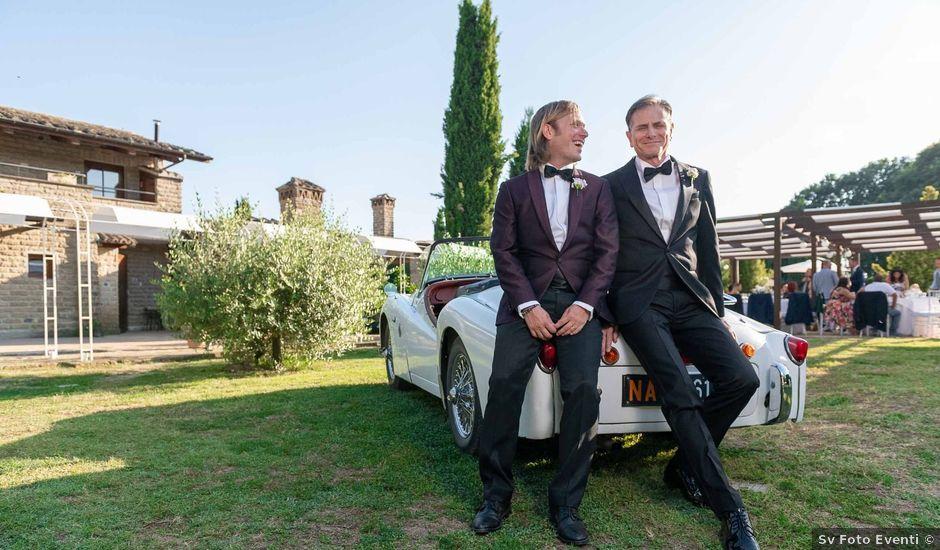 Il matrimonio di Fulvio e Giancarlo a Sutri, Viterbo
