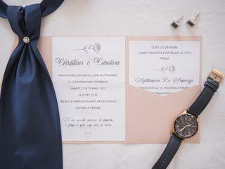 Le nozze di Carolina e Christian 1