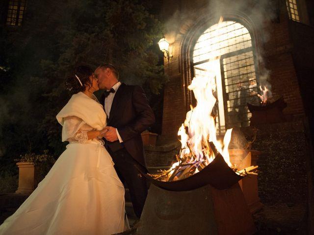 le nozze di Cristina e Gerard
