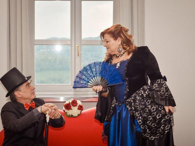le nozze di Angela e Riccardo
