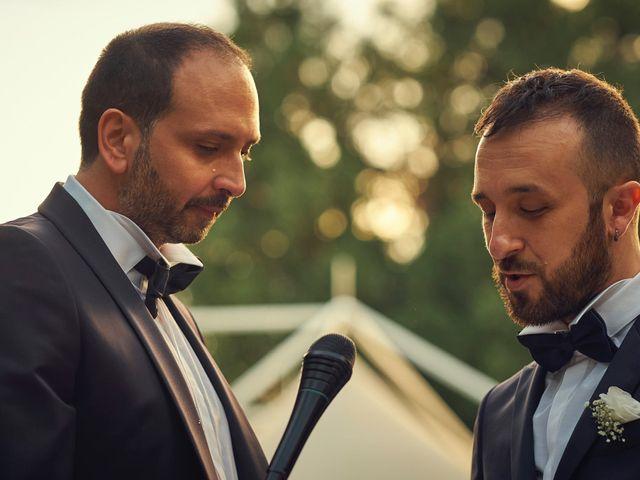 le nozze di Claudio e Daniele