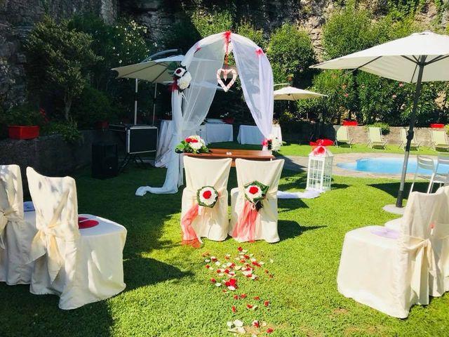Il matrimonio di Filippo e Daniela a Comerio, Varese 5