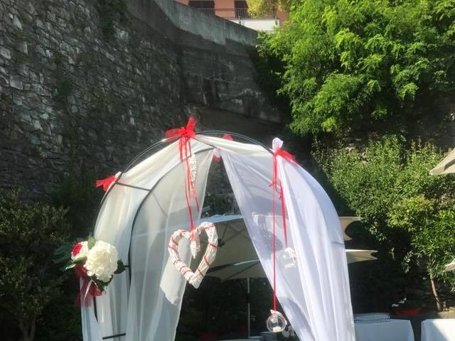 Il matrimonio di Filippo e Daniela a Comerio, Varese 12