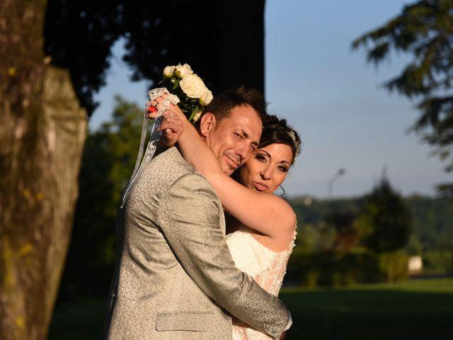 Il matrimonio di Filippo e Daniela a Comerio, Varese 30