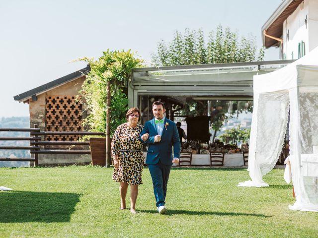 Il matrimonio di Matteo e Paola a Montevecchia, Lecco 17
