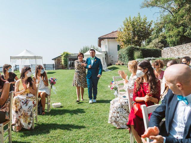 Il matrimonio di Matteo e Paola a Montevecchia, Lecco 19