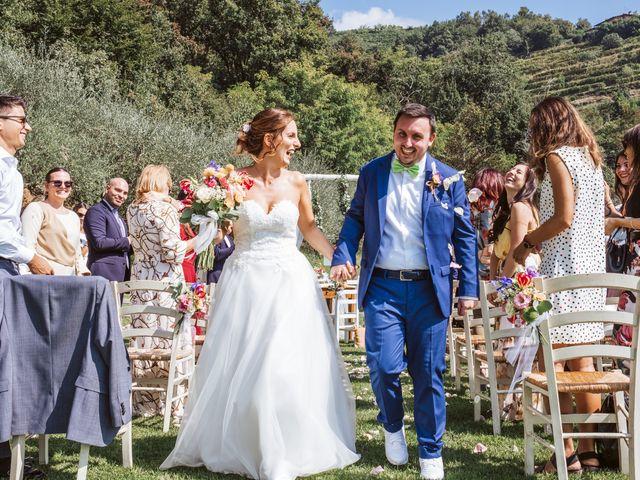 Il matrimonio di Matteo e Paola a Montevecchia, Lecco 45