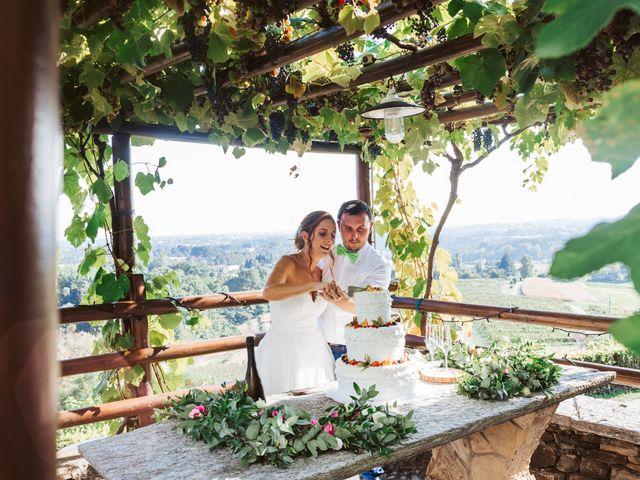 Il matrimonio di Matteo e Paola a Montevecchia, Lecco 73