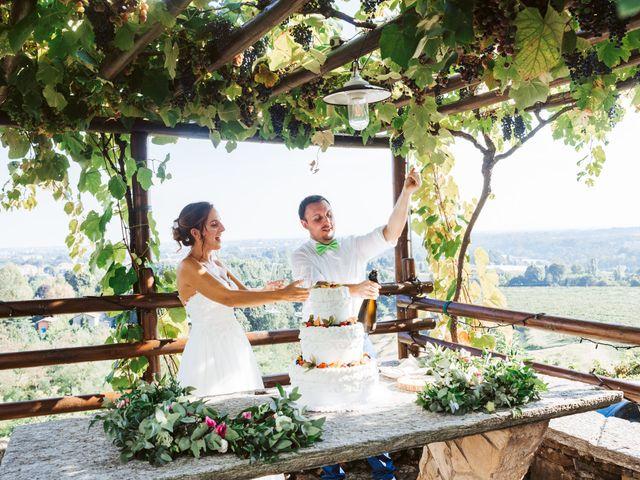 Il matrimonio di Matteo e Paola a Montevecchia, Lecco 74