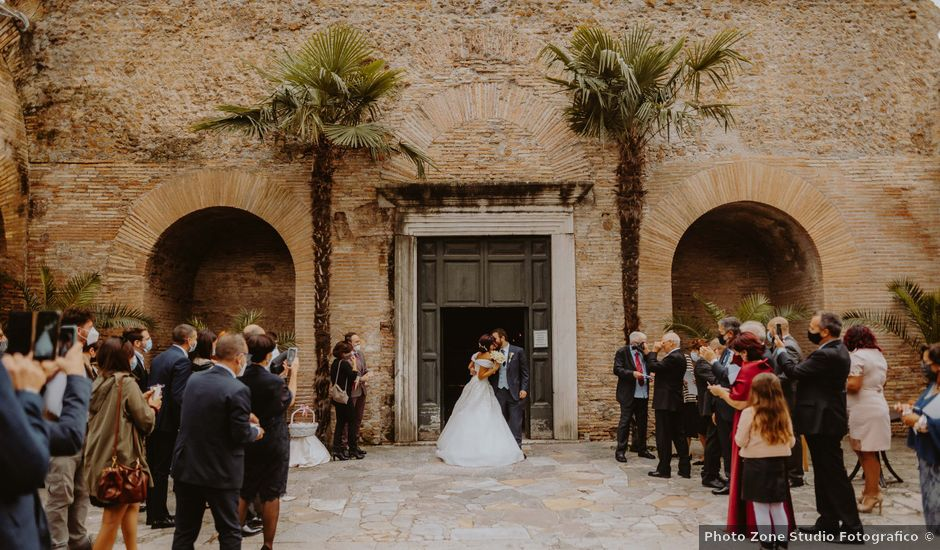 Il matrimonio di Emanuele e Alessandra a Roma, Roma