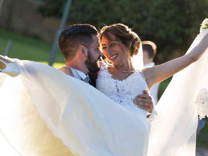 le nozze di Katia e Tommaso