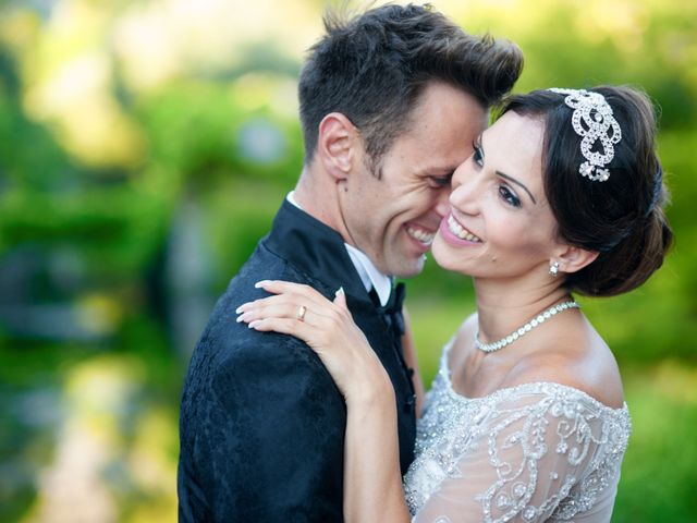 Il matrimonio di Marco e Weyda a Anzio, Roma 1