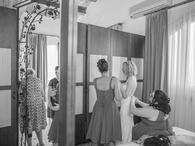 Il matrimonio di Amber e Jonh a Saludecio, Rimini 3