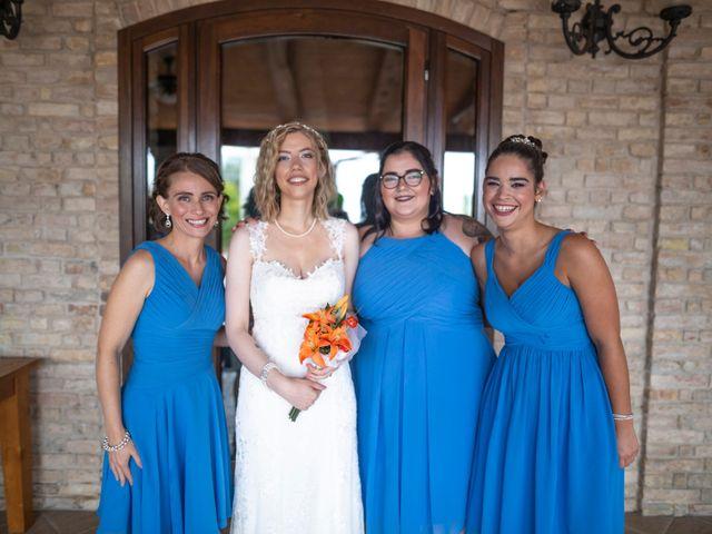 Il matrimonio di Amber e Jonh a Saludecio, Rimini 4