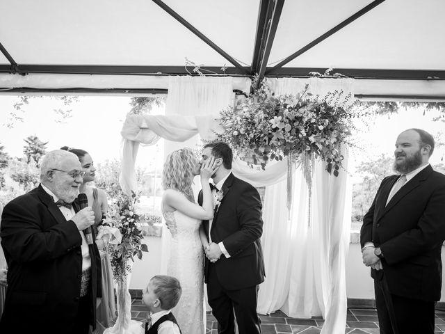 Il matrimonio di Amber e Jonh a Saludecio, Rimini 5