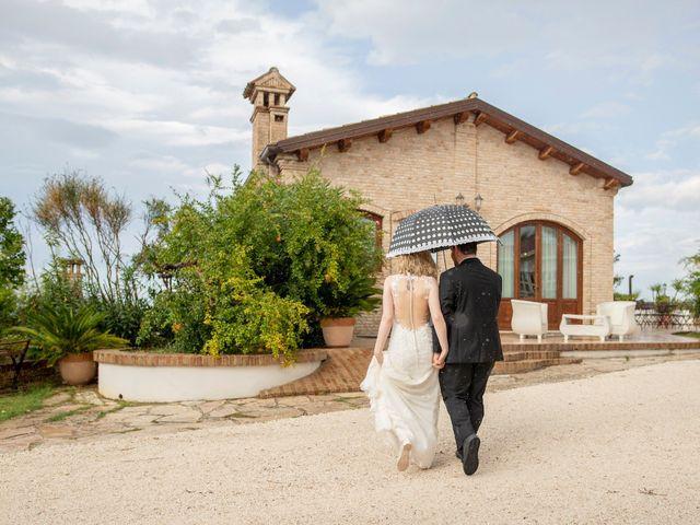 Il matrimonio di Amber e Jonh a Saludecio, Rimini 6