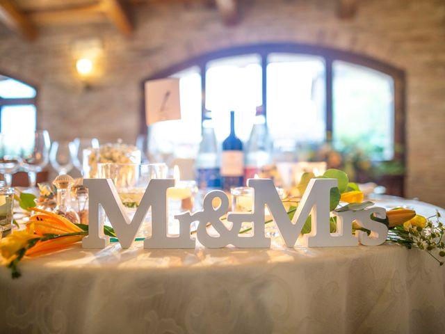Il matrimonio di Amber e Jonh a Saludecio, Rimini 9