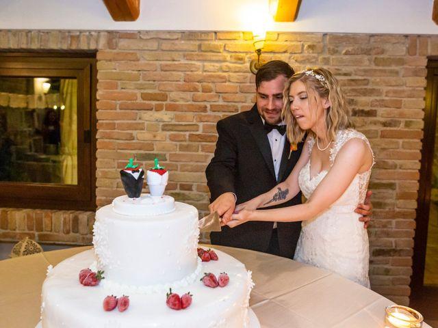 Il matrimonio di Amber e Jonh a Saludecio, Rimini 13