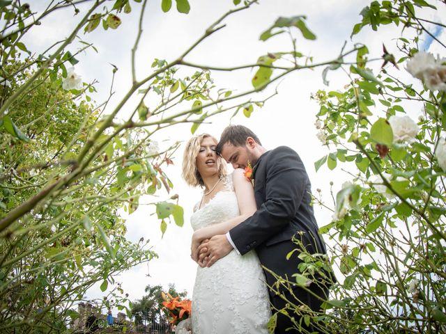 Il matrimonio di Amber e Jonh a Saludecio, Rimini 15