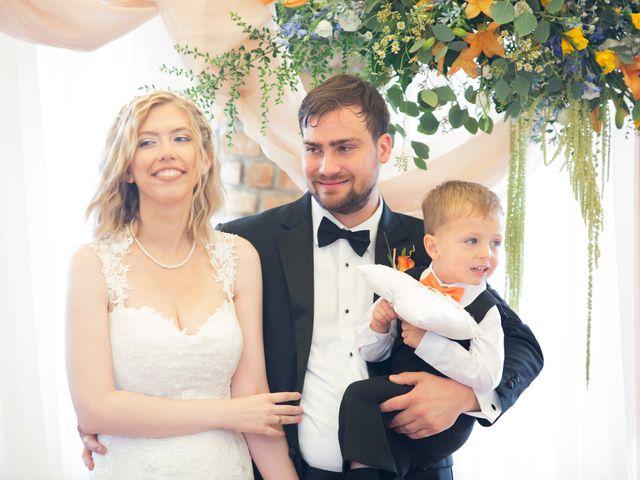 Il matrimonio di Amber e Jonh a Saludecio, Rimini 19